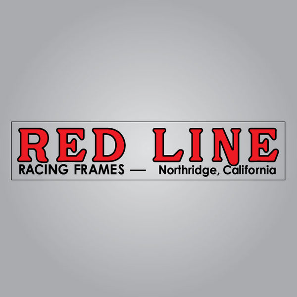 Red Line Racing Frames Swingarm Sticker Set
