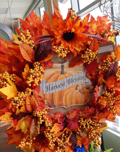 Harvest Blessing Wreath