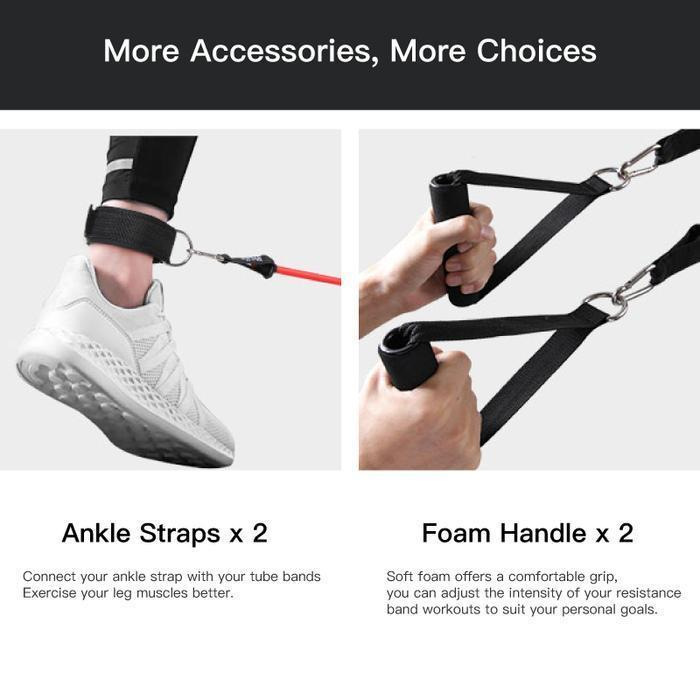 Trivia™ Piece Ultimate Workout Resistance Band Set