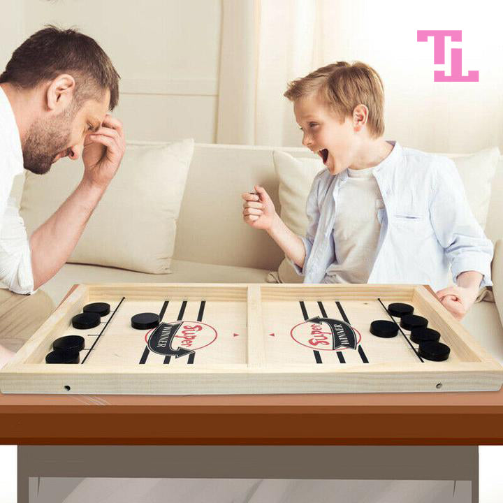 Trivia™ Wooden Hockey Game | 50% OFF Today Only!