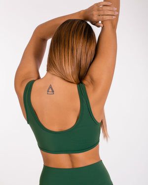 Energy Sports Bra - Army