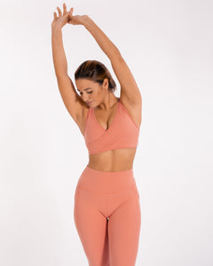 Energy Sports Bra - Blush