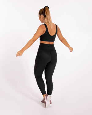 Devi Leggings - Infinity Black