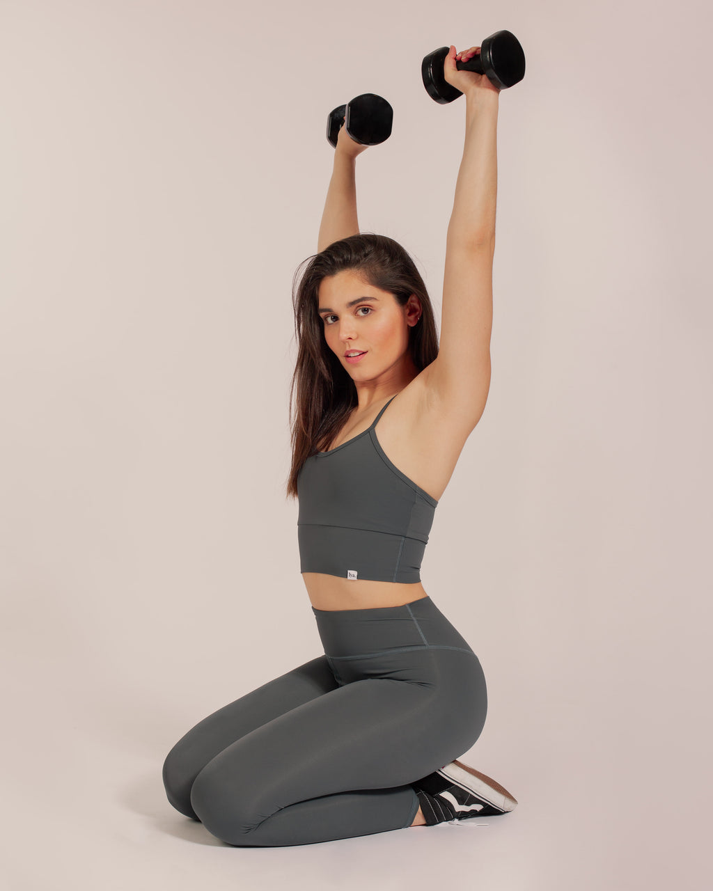 Earth Sports Bra - Space Grey