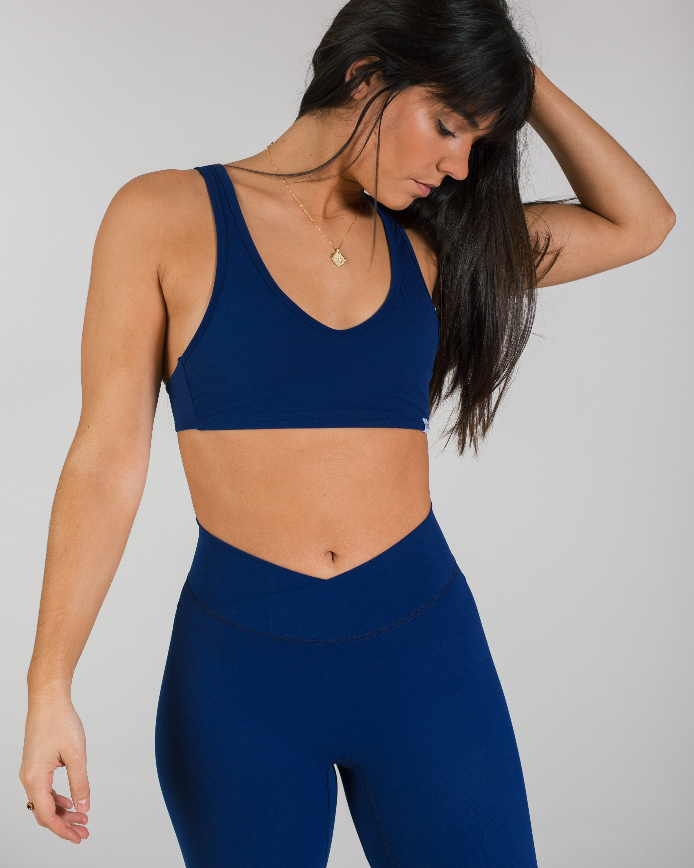 Asana Sports-Bra - Royal Blue