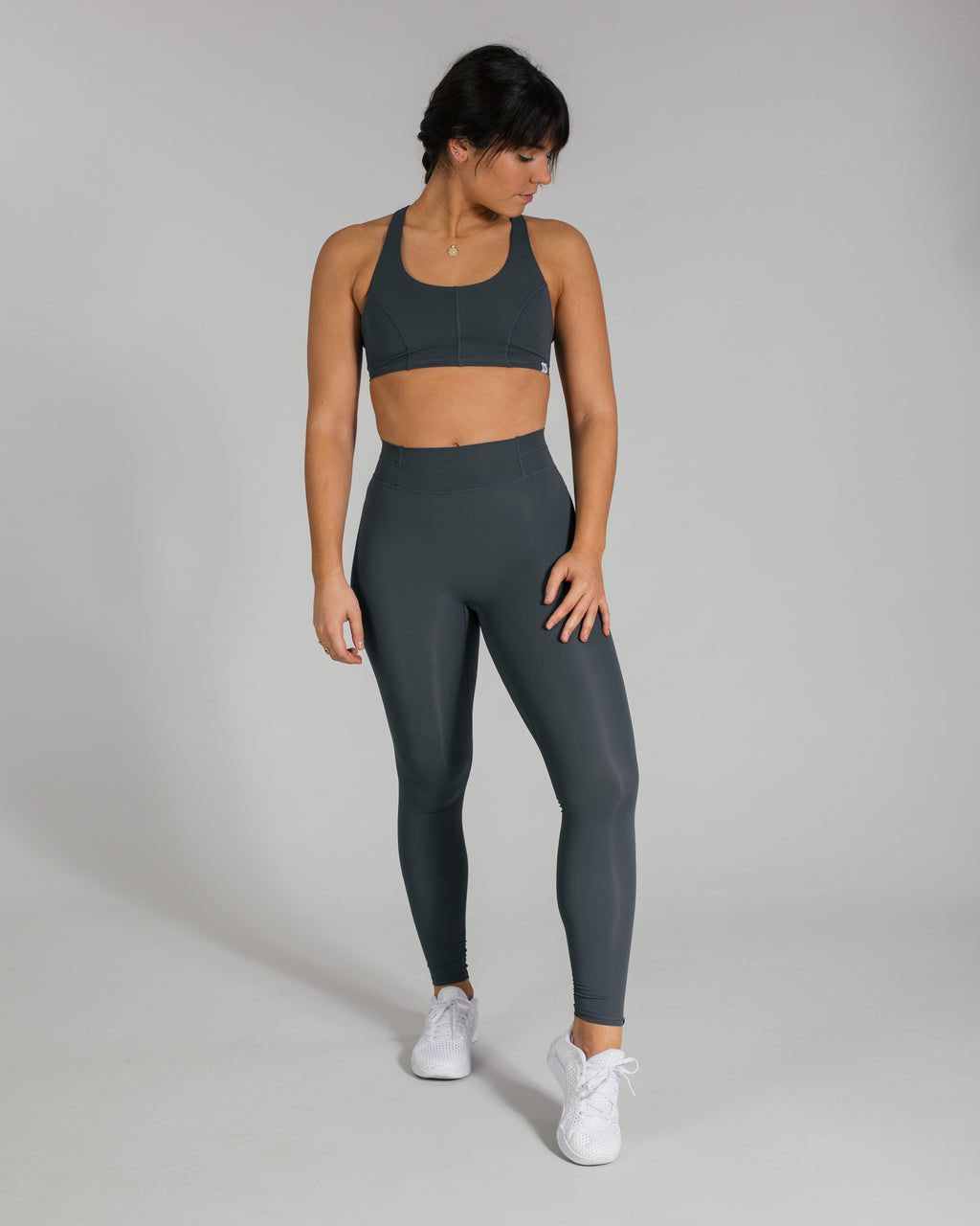 Flex Leggings - Space Grey