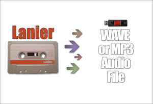 Lanier Tape to Digital
