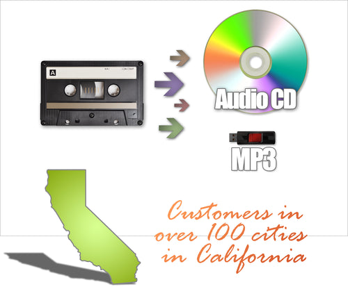 Transfer Cassettes to Digital in Bakersfield