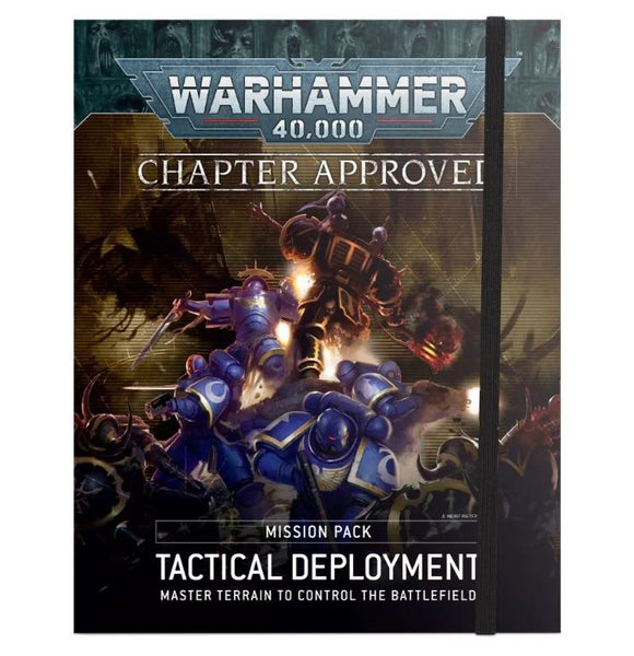 40K:Tactical Deployment Mission Pk 40K Generic Games Workshop