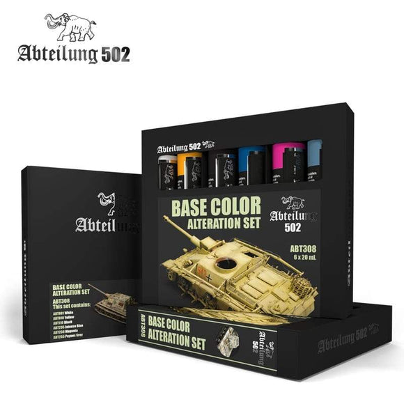 ABT308 Base Color Alteration Set Oil paint set Mworkshop