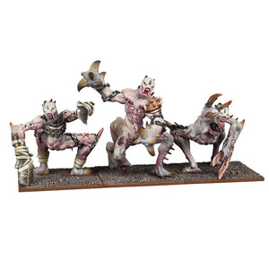 Abyssal Dwarf Grotesques Regiment Kings of War Mantic Games  (5026526003337)