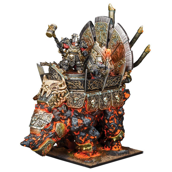 Abyssal Dwarf Hellfane Kings of War Mantic Games  (5026516271241)