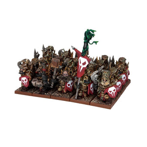 Abyssal Dwarf Immortal Guard Regiment Kings of War Mantic Games  (5026526265481)