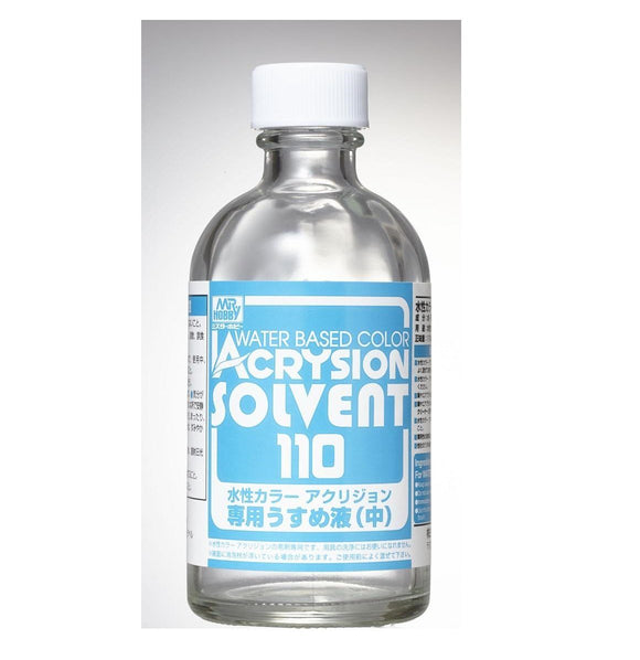 Acrysion Solvent 110ML Airbrush - Auxiliary MrHobby