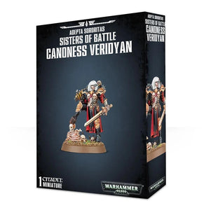 Adepta Soritas Canoness Veridyan Warhammer 40000 Games Workshop  (5026429304969)