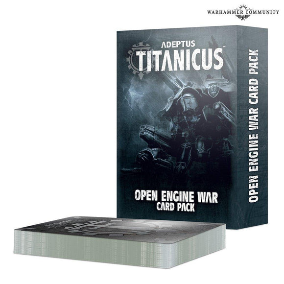 Ad/Titanicus: Open Engine War Card Pack Adeptus Titanicus Games Workshop