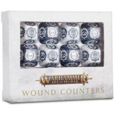 Age Of Sigmar: Wound Counters Warhammer Games Workshop  (5026694201481)