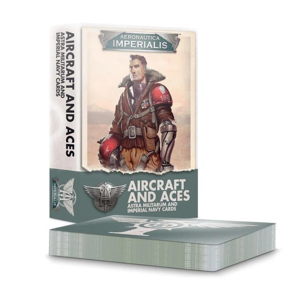 A/I: Aircraft & Aces Imperial Navy Cards Warhammer 40000 Games Workshop