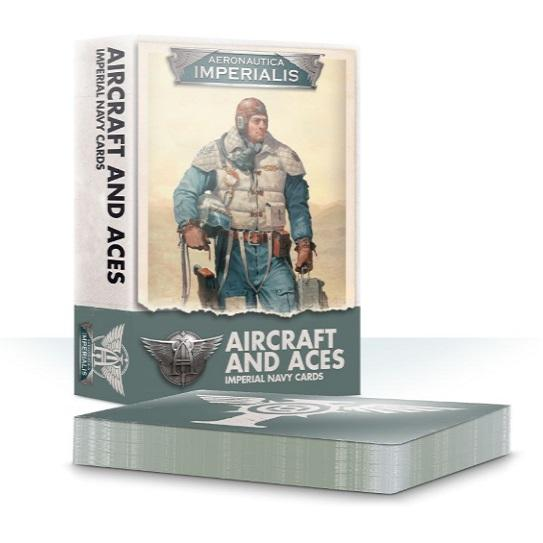 Aircraft & Aces: Imperial Navy Cards Generic Games Workshop  (5026689515657)