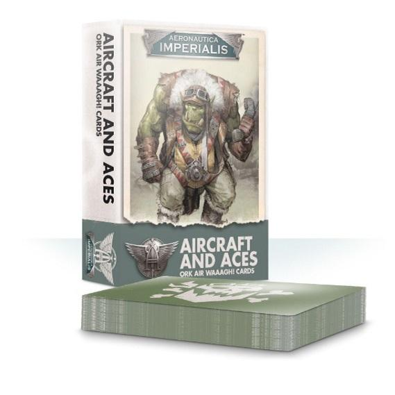 Aircraft And Aces Ork Air Waaagh! Cards Generic Games Workshop  (5026689482889)
