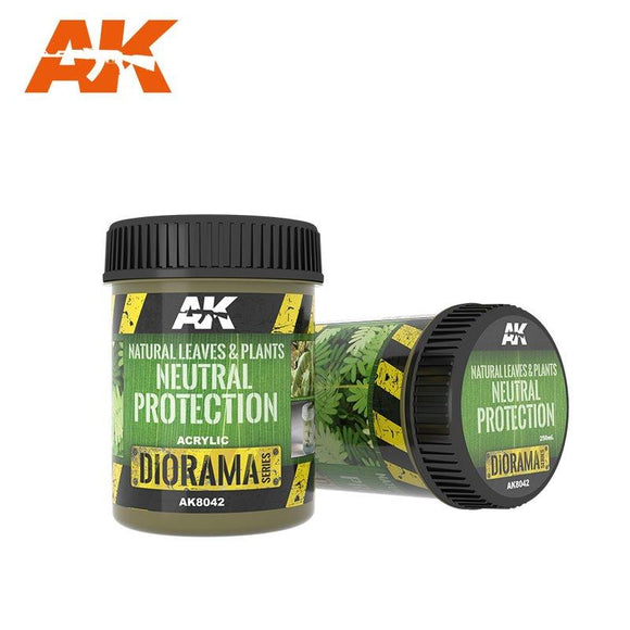 AK-8042 Leaves And Plants Neutral Protection - 250Ml Diorama effects AK Interactive