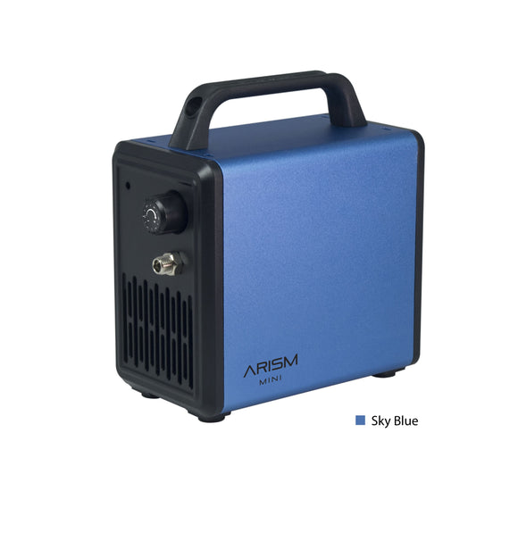 ARISM Mini Compressor - Sky Blue Airbrush - Compressor Sparmax