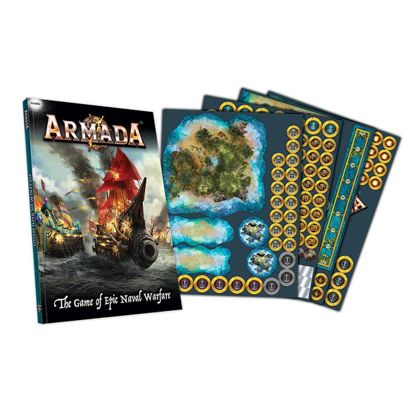 Armada Rulebook & Counters Armada Mantic Games