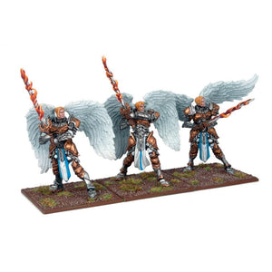 Basilean Elohi Regiment Kings of War Mantic Games  (5026530394249)