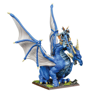 Basilean High Paladin On Dragon Kings of War Mantic Games  (5026516435081)