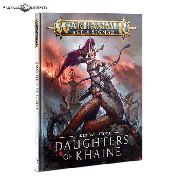 Battletome: Daughters Of Khaine Daughters Of Khaine Games Workshop