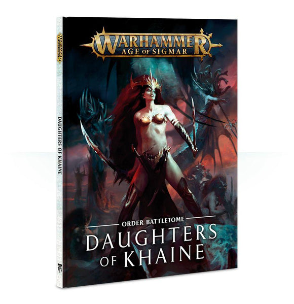 Battletome: Daughters Of Khaine Warhammer Games Workshop  (5026476458121)