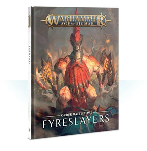 Battletome: Fyreslayers Warhammer Games Workshop  (5026476818569)