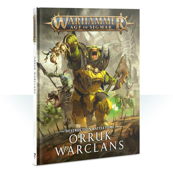 Battletome: Orruk Warclans Warhammer Games Workshop  (5026475311241)