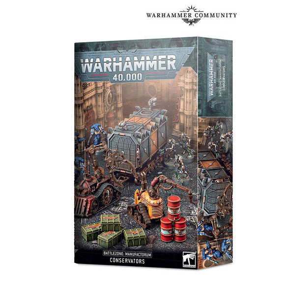 Battlezone Manufactorum: Conservators 40K Generic Games Workshop
