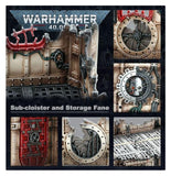 Battlezone Manufactorum: Sub-cloister and Storage Fane 40K Generic Games Workshop