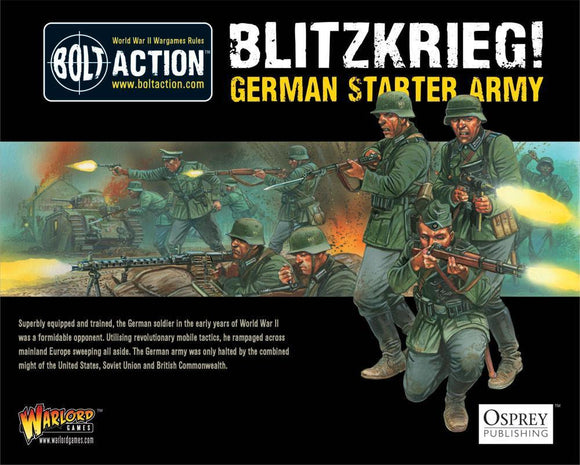 Blitzkrieg! German Heer Starter Army Warlord Minis Warlord Games