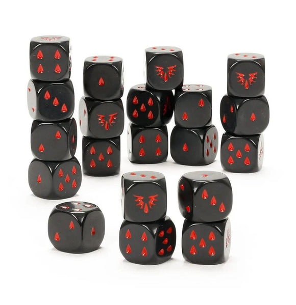 Blood Angels Dice Set Space Marine Games Workshop
