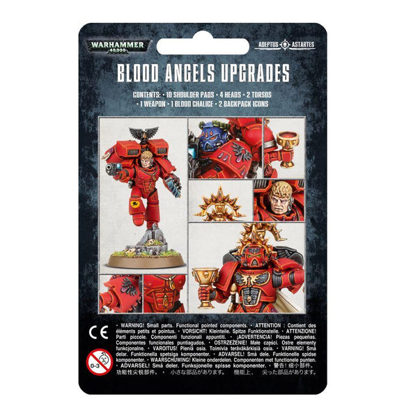 Blood Angels Upgrades Warhammer 40000 Games Workshop  (5026455158921)