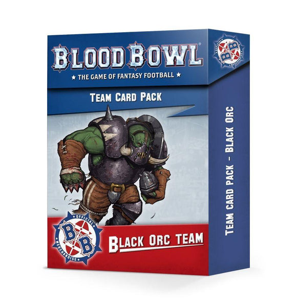 Blood Bowl: Black Orc Team Card Pack Blood Bowl Games Workshop