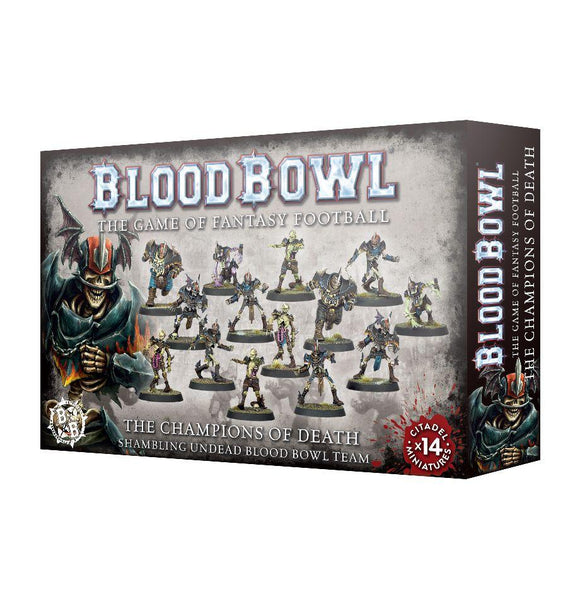 Blood Bowl Champions Of Death Team Generic Games Workshop  (5026483961993)