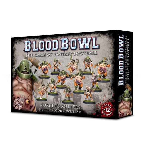 Blood Bowl: Nurgle'S Rotters Team Generic Games Workshop  (5026483994761)