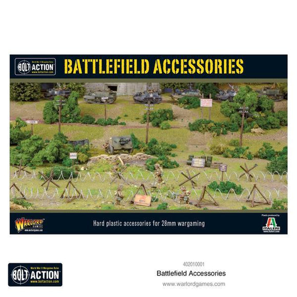 Bolt Action Battlefield Accessories Warlord Minis Warlord Games
