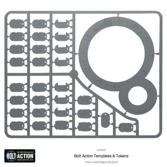 Bolt Action Templates Warlord Minis Warlord Games
