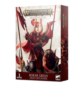 Broken Realms: Gresh's Iron Reapers Chaos Games Workshop