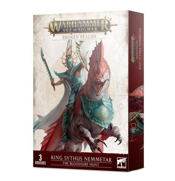 Broken Realms: The Bloodsurf Hunt Idoneth Deepkin Games Workshop