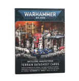 B/Zone Manufactorum Datasheet Cards 40K Generic Games Workshop