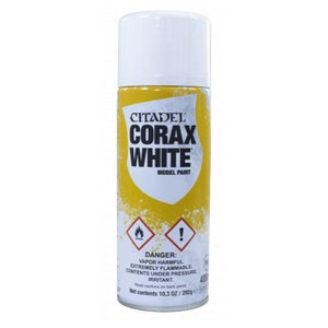 Ciatdel Spray Corax White Generic Games Workshop  (5026505523337)