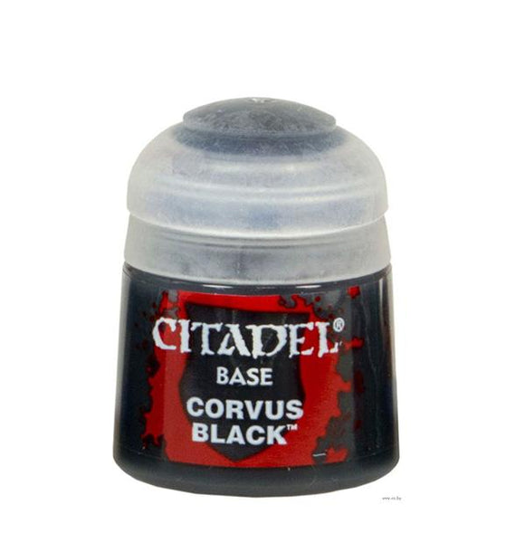 Citadel Base: Corvus Black Generic Games Workshop  (5026721005705)