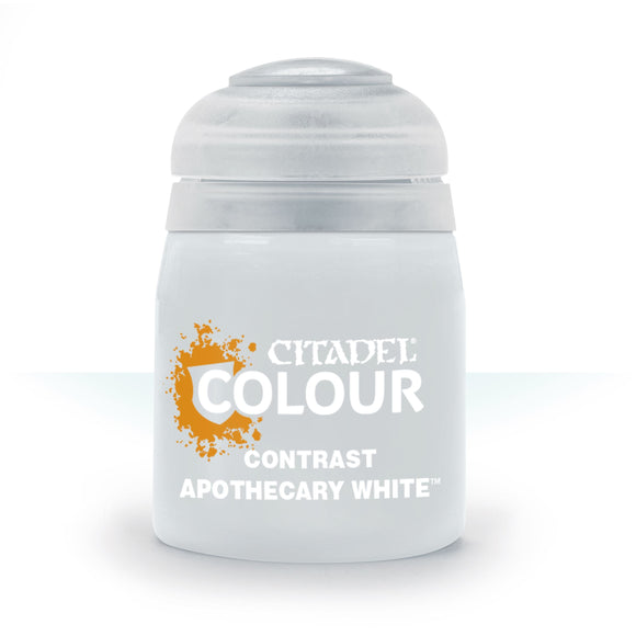 Citadel Contrast: Apothecary White Generic Games Workshop  (5026706817161)