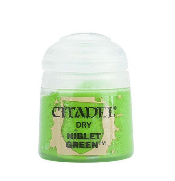 Citadel Dry: Niblet Green Generic Games Workshop  (5026711208073)